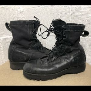 Welco Leather Combat Boots